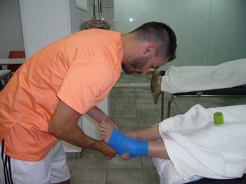 ¿Qué es el vendaje funcional? - Curso Fisioterapia en Barcelona TOP aul@ Salud