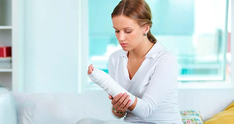 ¿Como actuar en caso de sufrir una fractura? - TOP aul@ Salud